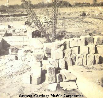 Source:� Carthage Marble Corporation